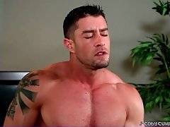 Experienced Cody Cummings performs sensual solo action.