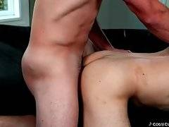 Cody Enjoys The View Of Tex And James Fucking 1