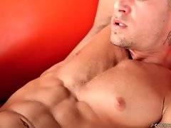 Handsome Stud Plays With His Thick Dick 3